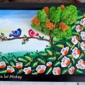 Tablou Camp cu flori
