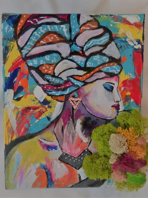 Tablou Color Lady