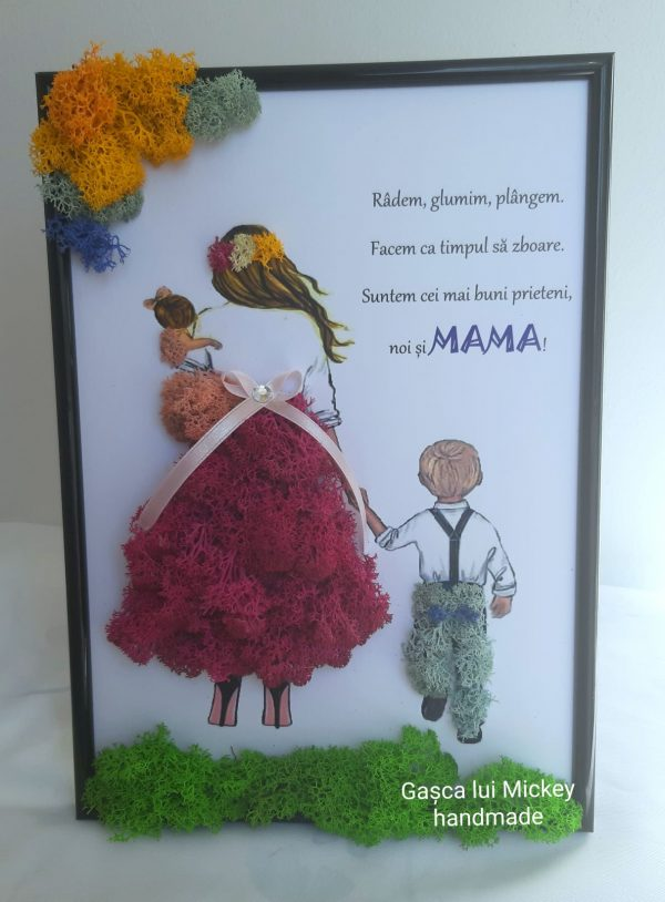Tablou Mama si copiii